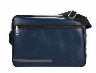 Calvin Klein Jeans Herren Messenger Bag Cross Over Umhaengetasche Dark