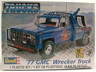 GMC Wrecker Truck 1977 Abschlepper, Kunststoffbausatz, Modellauto 125