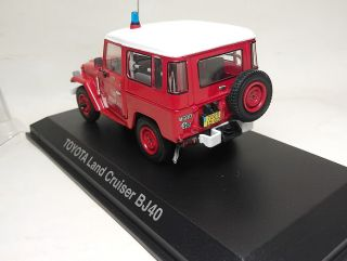 RARE NOREV 1/43 Toyota Land Cruiser BJ40 Fire Pompier Chessy Les