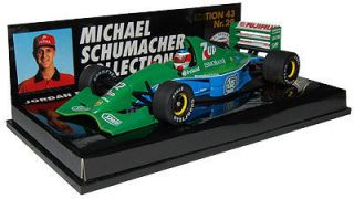 Minichamps 143 Michael Schumacher   7UP Jordan 191   Mint