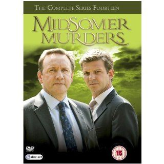Midsomer Murders Series 14 Region 2 6 DVD PAL Keine deutsche Version