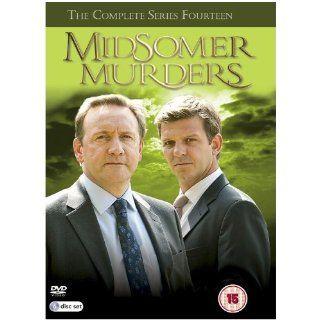Midsomer Murders Series 14 Region 2 6 DVD PAL Keine deutsche Version