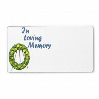 In Loving Memory Shipping Labels