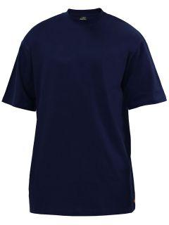 Shirt Extra Lang Dunkelblau Überlänge von Urban Classics MT   6XLT