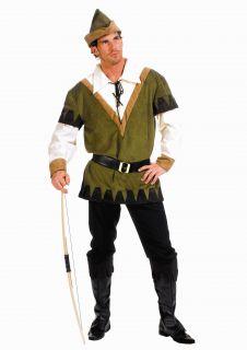 ROBIN HOOD Exklusives Kostüm Herren Lederlook 48 50 NEU