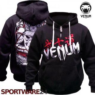 Venum ZIP Hoodie Samurai Mask Hoody S/M/L/XL/XXL MMA UFC Kapuzenjacke