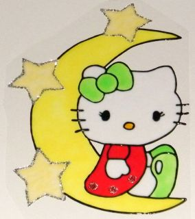 WINDOW COLOR Fensterbild Bild Hello Kitty Nachtleuchtf