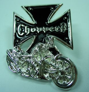 PIN Eisernes Kreuz CHOPPER Biker