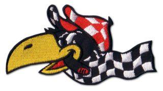 RACING BIRD Hot Rod Aufnäher Aufkleber Patch Sticker