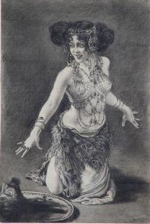 Leopold Schmutzler Salome Erotik Tanz Trance Ekstase Schmuck Richard