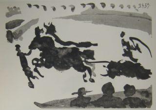 Pablo Picasso Toros y Toreros 3.4.59 XXI