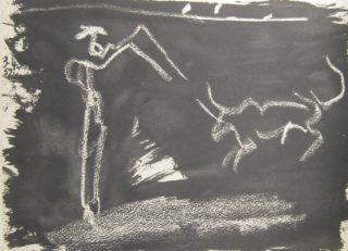 Pablo Picasso Toros y Toreros 3.4.59 XVIII