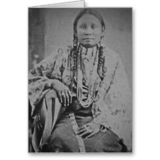 , Note Cards and Native American Indian Women Greeting Card Templates