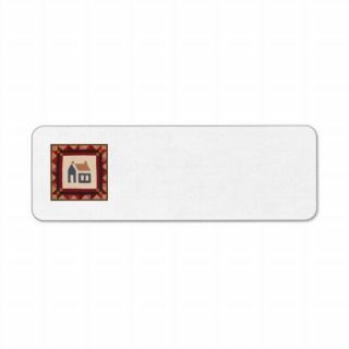 Block A Return Address Label