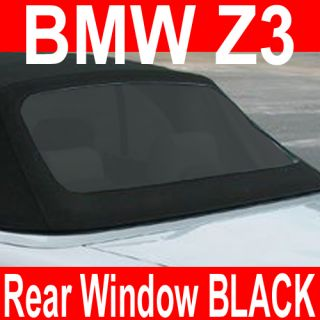 BMW Z3 Convertible Top Rear Window Cabriolet Cabrio black tint New