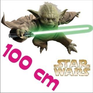 Star Wars Jedi YODA Wandtattoo Wandsticker Wandaufkleber 1m