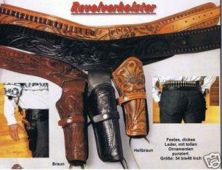 Western Cowboy Holster Westernholster Revolverholster Revolverguertel