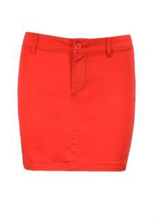 Pieces Minirock Fay Mini Skirt dark peach