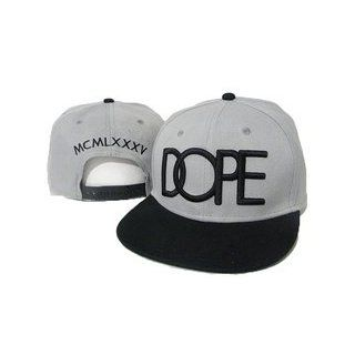 Snapback Dope Couture Cap Grau Black Wiz Khalifa Kanye West Tyga