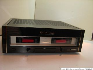 Pioneer M 90 Reference Power Amplifier  TOP