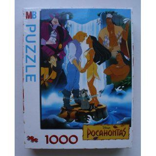 MB Disney Pocahontas Puzzle 1000 Teile Spielzeug