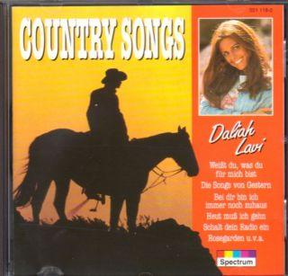 DALIAH LAVI    COUNTRY SONGS    CD