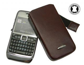 Nokia E72 / E 72 Etui Leder Tasche *BRAUN* Case Hülle