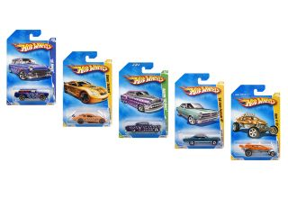 HOT WHEELS Autos HOT 100, sortiert, 164 NEU/OVP
