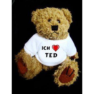 Teddy Bear mit Ich liebe Ted t shirt Spielzeug