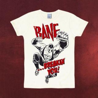 Batman   Bane Retro T Shirt, hochwertiges Marken DC Comics T Shirt