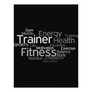 Fitness Flyers, Fitness Flyer Templates and Printing