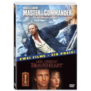 Master and Commander / Braveheart [2 DVDs] Russell Crowe