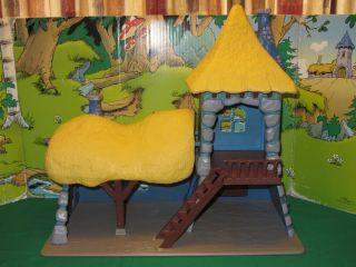 SCHTROUMPF SMURF PITUFO HOUSE GARGAMEL CASTLE OLD V. #68