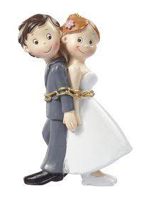 Lustige Tortenfigur Brautpaar Deko Dekoration Hochzeitstorte On