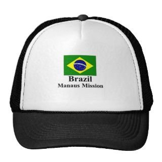 Brazil Manaus Mission Hat
