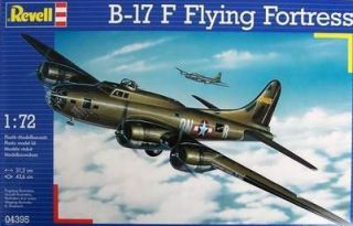 KIT REVELL 172 AEREO B   17 F FLYING FORTRESS 04395