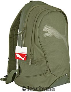 PUMA Big Cat Backpack Rucksack Tasche Olive Green NEU
