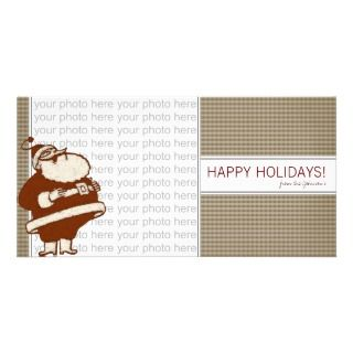 Jolly Old Saint Nick Photo Card