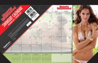 Sports Illustrated   Swimsuit   2013 Desk Pad Calendar Calendars