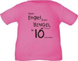 Kinder T Shirt Vom Engel zum Bengel in 10 Sekunden / Größe 60   164