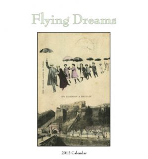 Flying Dreams   2013 Easel/Desk Calendar Calendars