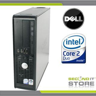 OptiPlex 745 SFF Intel Core 2 Duo mit 2x 1 86 GHz 1 GB RAM 80 GB HDD