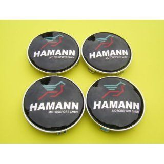 BMW Hamann Alloy Wheel Centre Caps Hub Cover Badges Emblem