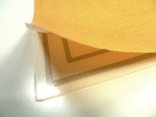 Heizfolie 110 x 77 mm 12V 12W 12Volt klebend Spiegel Heizung heating