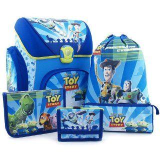 5teiliges Schulranzen Set Toy Story Groesse 40 x 36 x 24 cm