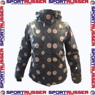 Brunotti Jitze Womens Jacket black/brown