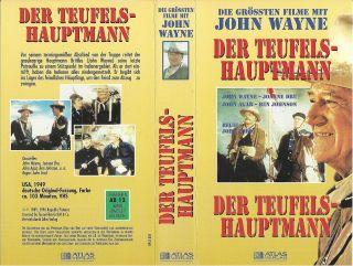 VHS) Der Teufelshauptmann   John Wayne, Joanne Dru, John Agar, Ben