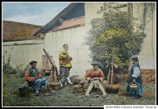 1898 Photographie Malerische Studien Welt Reise World Travel 200