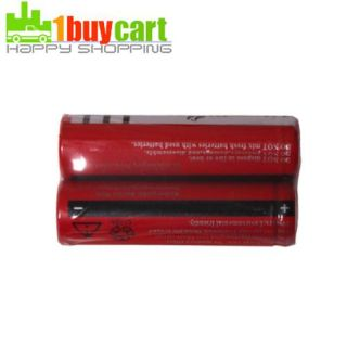 New 2 x UltraFire 18650 3000mAh 3.7V Rechargeable Battery rk