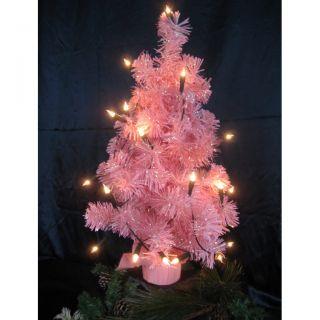 Tannenbaum Weihnachtsbaum 60cm pink rosa Xmas tree Christbaum 20er